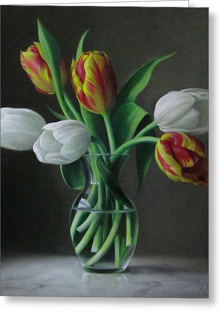 Still Life Greeting Cards - Silence Greeting Card by Pieter Wagemans
