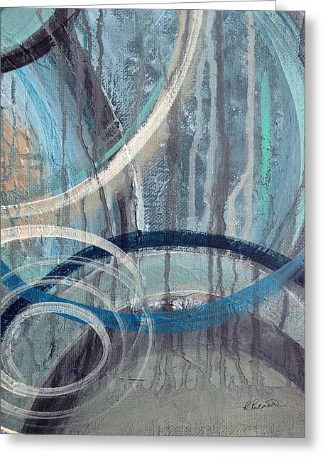 Silent Drizzle II Greeting Card by Ruth Palmer