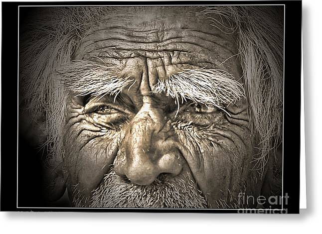 Medical Greeting Cards - Silent Eyes Greeting Card by Pedro L Gili