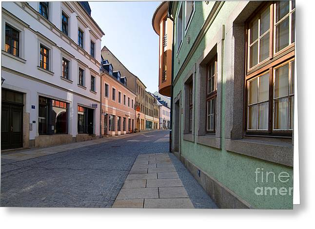 Deutschland Greeting Cards - Silent Street Greeting Card by Ari Salmela