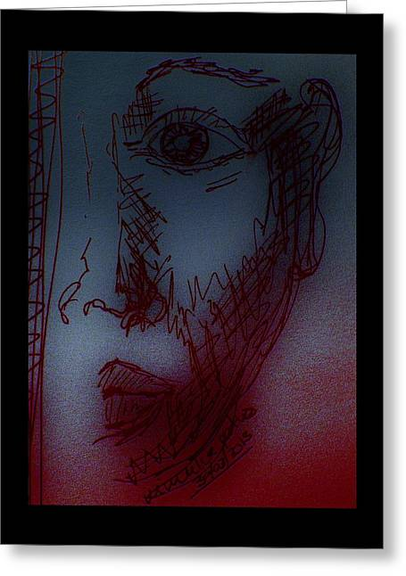 Silent Witness Greeting Card by Mimulux patricia no