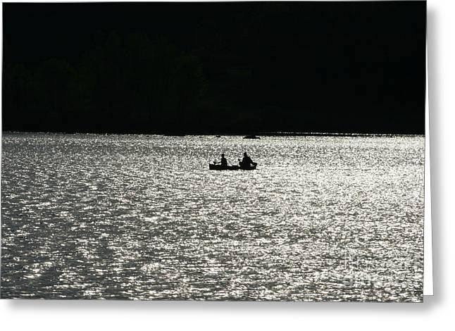 Landscape Photograph Greeting Cards - Silhouette of Tears Greeting Card by Neal  Eslinger