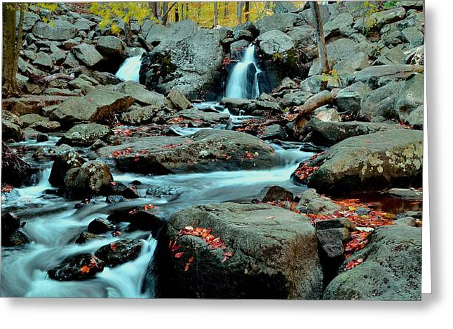 Silky Water 3 Greeting Card by Allen Beatty