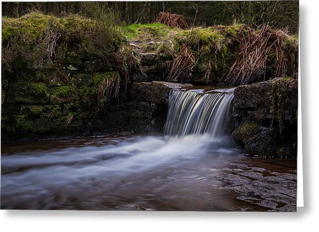 Hiking Greeting Cards - Silky Water. Greeting Card by Daniel Kay