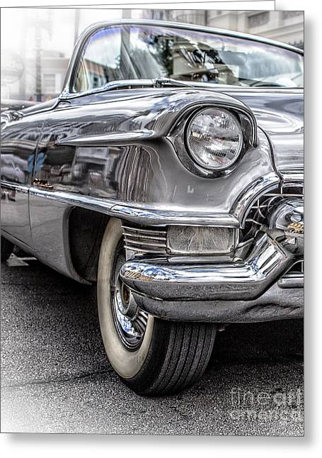 Caddy Greeting Cards - Silver Caddy 2 Greeting Card by Edward Fielding