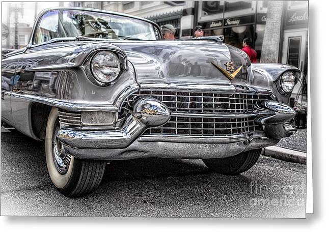 Caddy Greeting Cards - Silver Caddy Greeting Card by Edward Fielding
