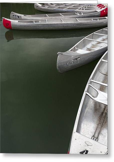 Row Boat Photographs Greeting Cards - Silver Fish I Greeting Card by Jon Glaser