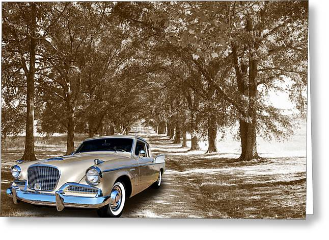 Cruisin For A Cure Greeting Cards - Silver Hawk Greeting Card by Bill Dutting