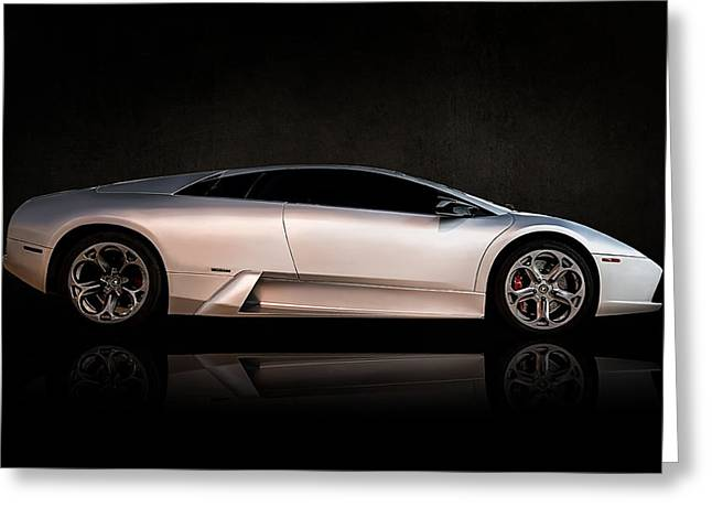 Exotic Greeting Cards - Silver Murcielago Greeting Card by Douglas Pittman