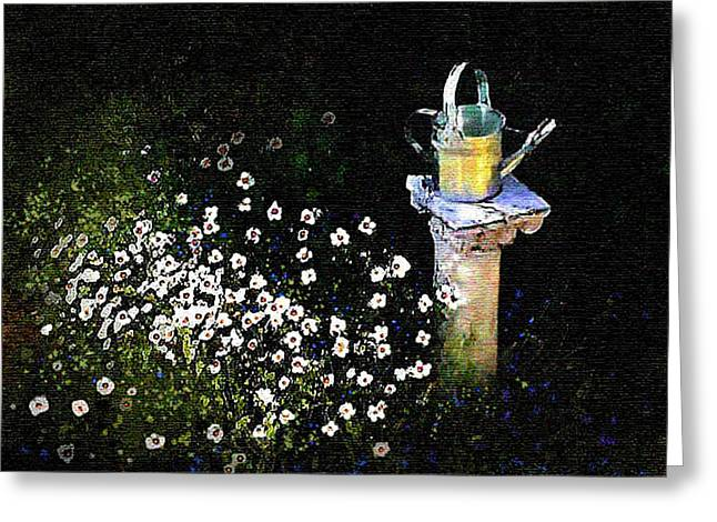Silver Pitcher Greeting Cards - Silver Pitcher Greeting Card by Robert Foster