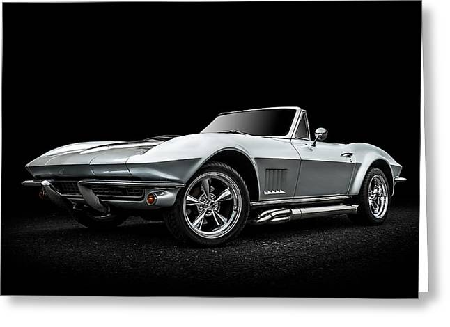 Chevrolet Greeting Cards - Silversmith Greeting Card by Douglas Pittman