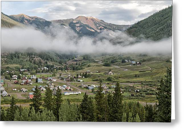 Best Sellers Greeting Cards - Silverton Colorado II Greeting Card by Melany Sarafis