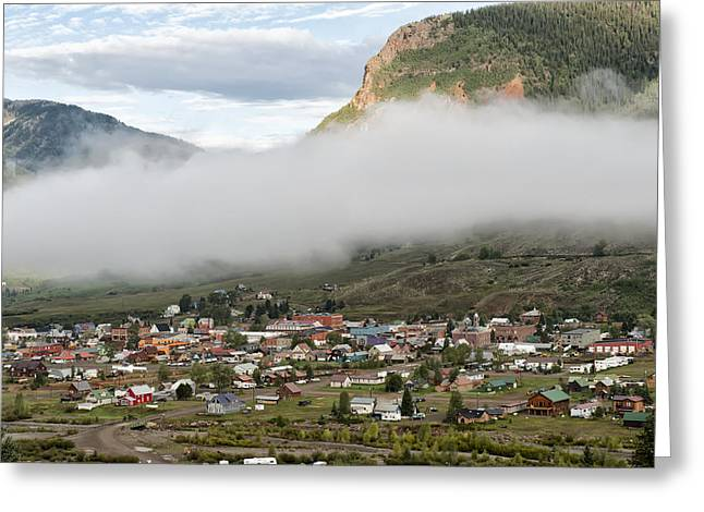 Best Sellers Greeting Cards - Silverton Colorado III Greeting Card by Melany Sarafis