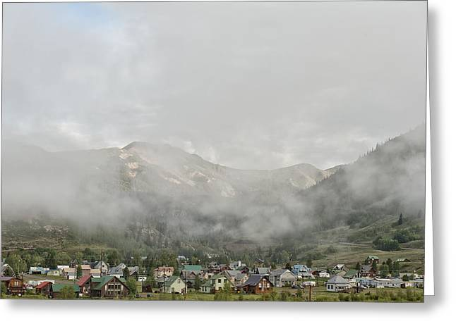 Best Seller Greeting Cards - Silverton Colorado Greeting Card by Melany Sarafis