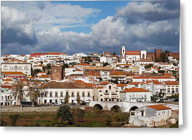 Nigel Hamer Greeting Cards - Silves Panarama Greeting Card by English Landscapes
