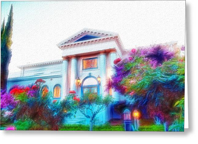 Ventura California Greeting Cards - Simi Valley Art Center 8 Greeting Card by Cindy Nunn