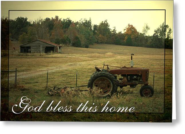 Recently Sold -  - Barn Yard Greeting Cards - Simple Life Greeting Card by Linda Fowler