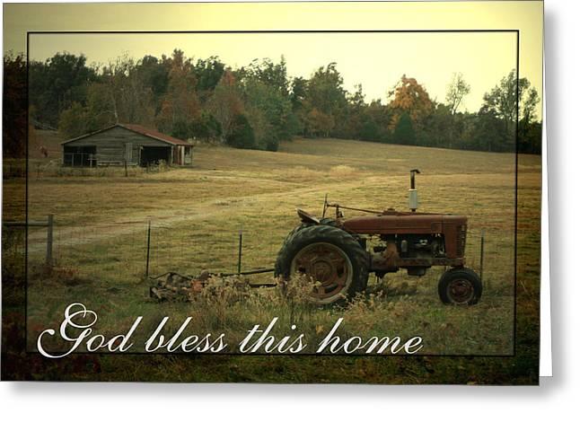 Simple Life Greeting Card by Linda Fowler
