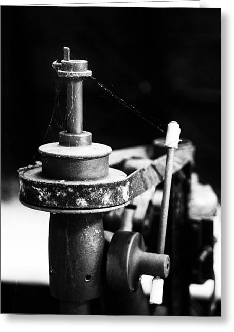 Mechanism Photographs Greeting Cards - Simple Machinery Greeting Card by Karol  Livote