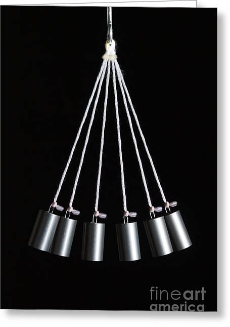 Pendulum Greeting Cards - Simple Pendulum Greeting Card by GIPhotoStock