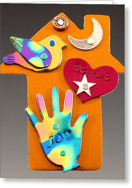 Colorful Jewelry Greeting Cards - Simple Pleasure Greeting Card by Barbara Lager
