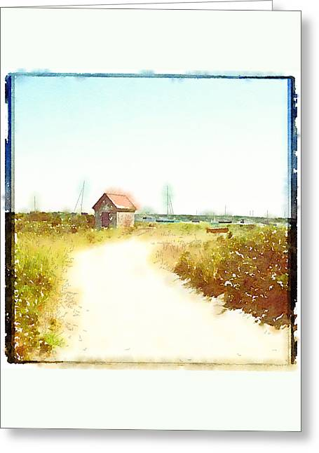 Brant Point Greeting Cards - Simple Pleasures Greeting Card by Natasha Marco