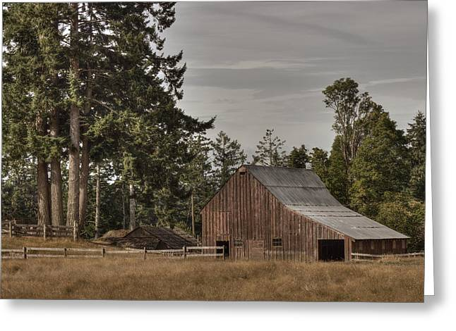 Outbuildings Greeting Cards - Simpler Times 2 Greeting Card by Randy Hall