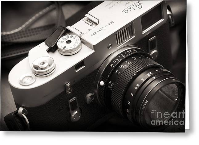 Rangefinder Greeting Cards - Simplicity at its Finest Greeting Card by John Rizzuto