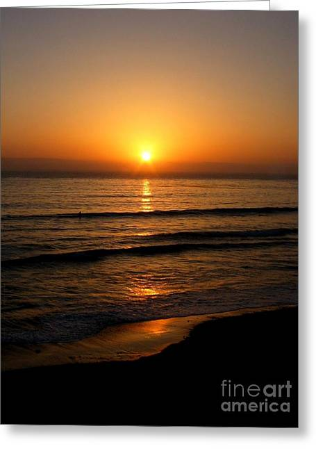 Big Sur California Greeting Cards - SiMPLy GoLDeN Greeting Card by Angela J Wright