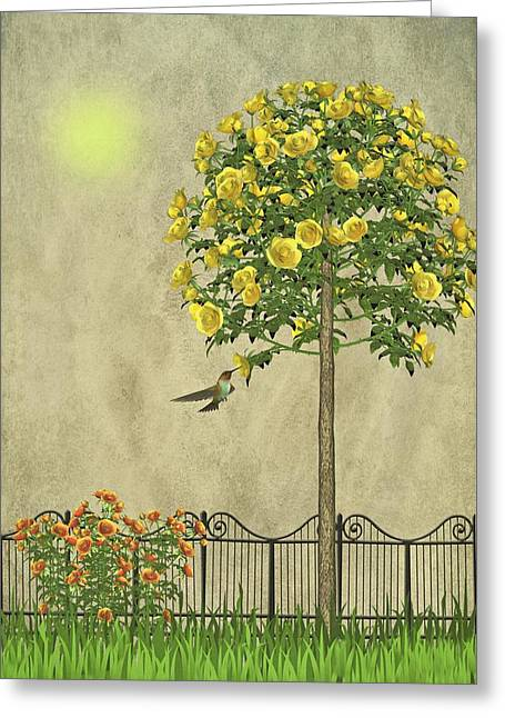 Simply Spring Greeting Card by David Dehner