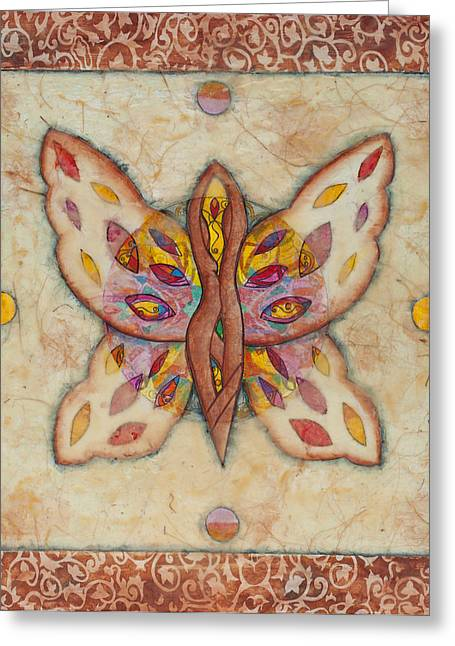 Raising Awareness Greeting Cards - Simply Together Greeting Card by Cheryl Irwin