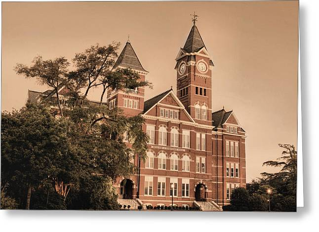 Auburn Greeting Cards - Since 1856 Greeting Card by JC Findley