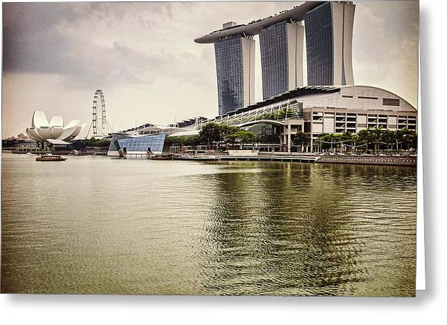 Singapore Greeting Cards - Singapore Icons Greeting Card by Colin and Linda McKie
