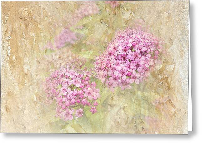 Spirea Greeting Cards - Singing My Song Greeting Card by Betty LaRue