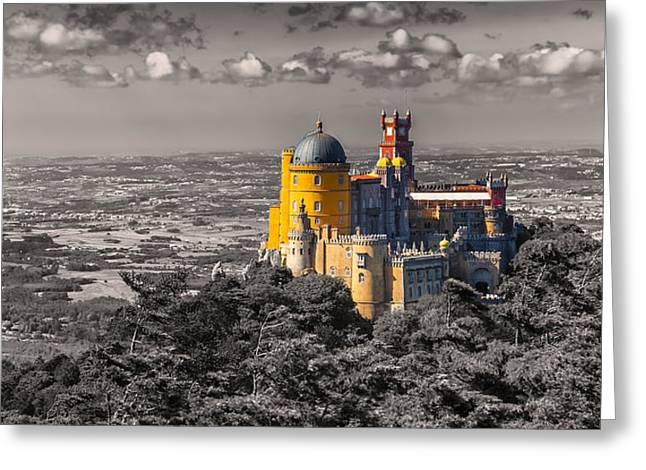 Pena Greeting Cards - Sintra 02 Greeting Card by Tom Uhlenberg