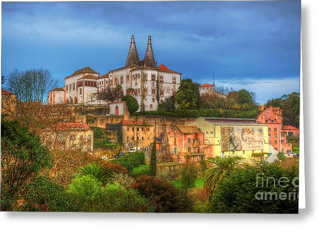 Royal Family Arts Greeting Cards - Sintra Greeting Card by English Landscapes