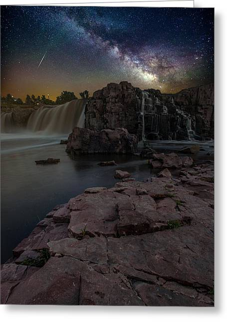 Sioux Greeting Cards - Sioux Falls Dreamscape Greeting Card by Aaron J Groen
