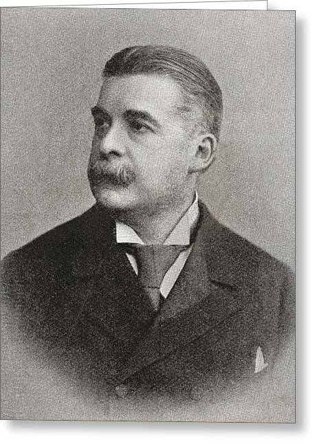 Collaboration Greeting Cards - Sir Arthur Seymour Sullivan, 1842 –1900.   English Composer Best Known For His Operatic Greeting Card by Bridgeman Images