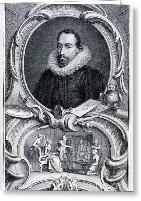 Character Portraits Greeting Cards - Sir Francis Walsingham Greeting Card by British Library