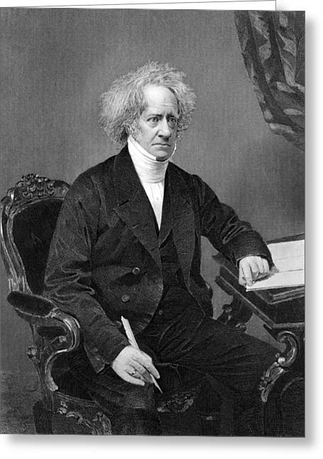 Sir Frederick William Herschel Greeting Card by Underwood Archives