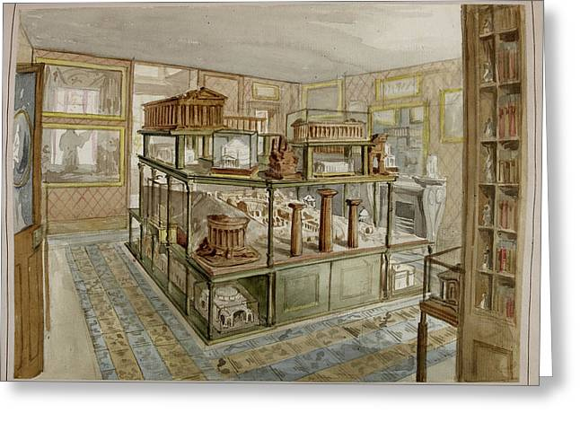 Sir John Soane's Museum Greeting Card by British Library