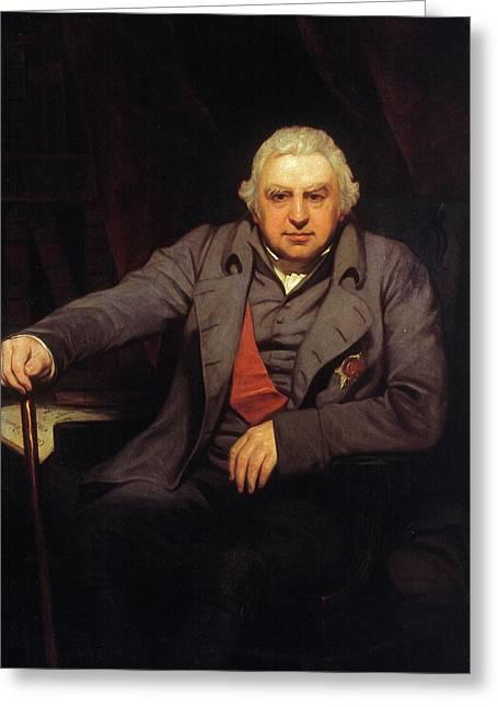 Sir Joseph Banks (1743-1820) Greeting Card by Granger