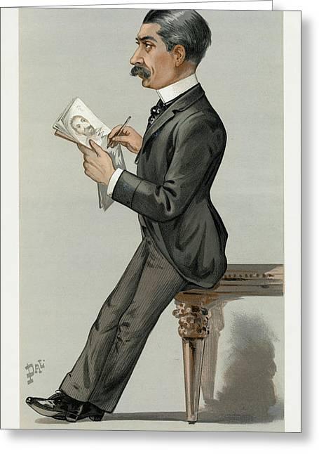 Sir Leslie Ward (1851-1922) Greeting Card by Granger