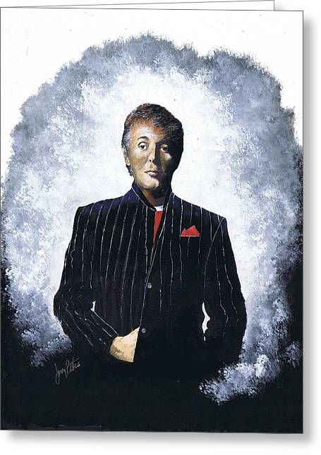 Sir Paul  Greeting Card by Jerry Bates