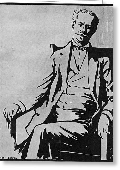 Sir Thomas Lipton (1850-1931) Greeting Card by Granger