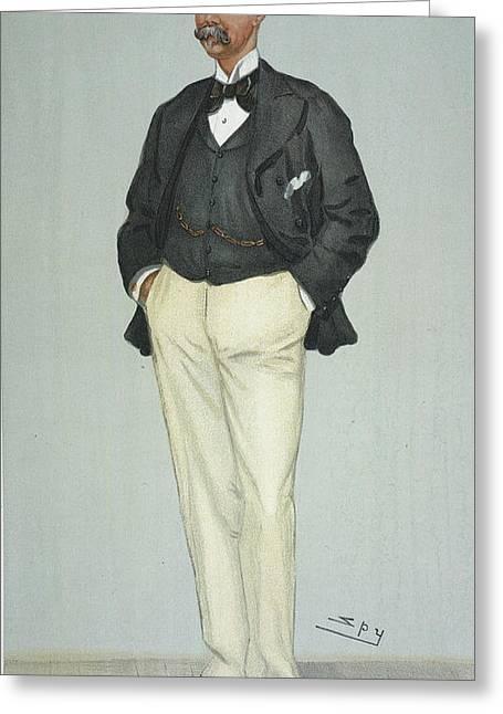 Sir Thomas Lipton, 1901 Greeting Card by Granger