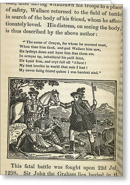 Sir William Wallace Greeting Card by British Library