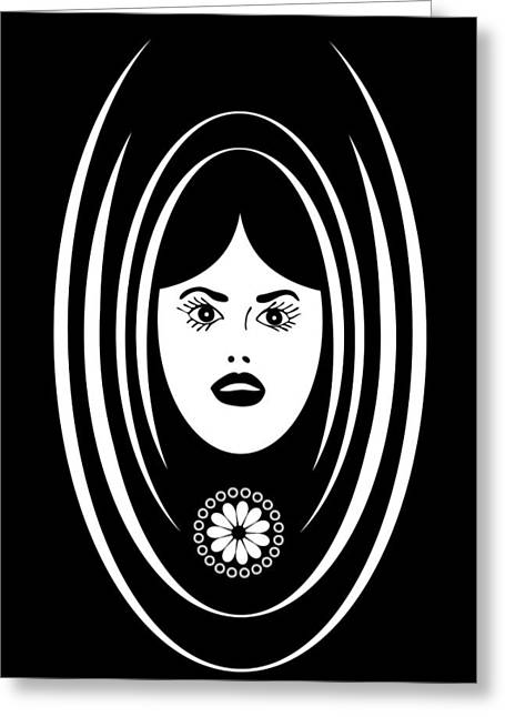 Voices Greeting Cards - Siren Greeting Card by Frank Tschakert