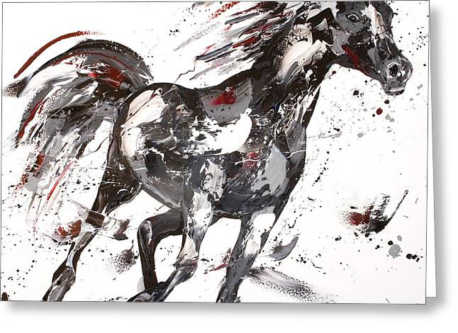 Equestrian Prints Greeting Cards - Siren Greeting Card by Penny Warden