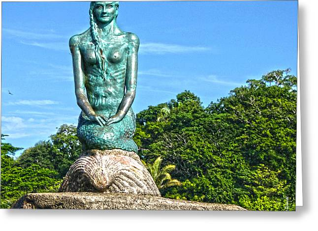 Sirena Playa Esterillos Oeste Costa Rica II  Greeting Card by Michelle Wiarda